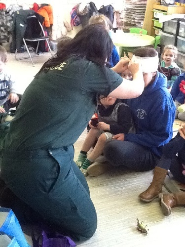 Gallery Image from Barbies Footsteps - Paramedic Visit
