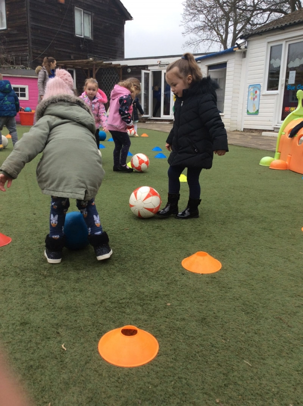 Gallery Image from Barbies Footsteps - Football Coaching