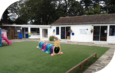 Image of Barbies Playschool outside area